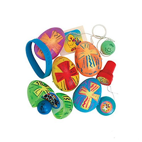 Religious Toy Filled Eggs Case Pack 24 by Fun Express