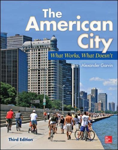 The American City  What Works  What Doesnt