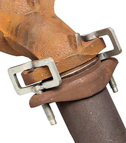Exhaust stud clamp kit for v trucks import it all