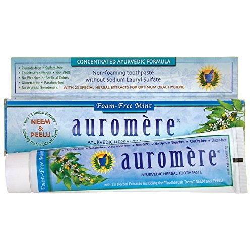 auromere-thrau0080-ayurvedic-herbal-toothpaste-foam-free-mint-416-ounce-by-auromere