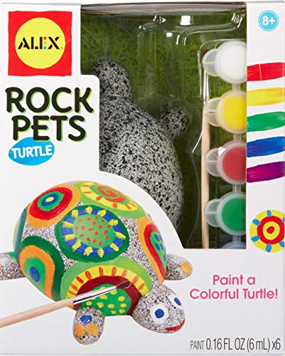 ALEX Toys Craft Rock Pets Turtle, Multi