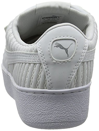 Puma Sneaker White Q2 puma Bianco Puma EP Platform Donna Vikky White IxIO0aw