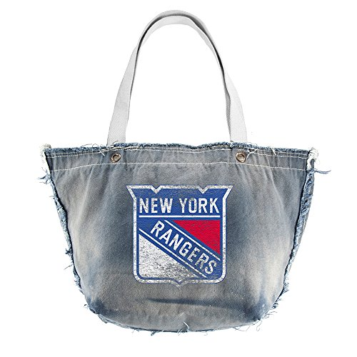 NHL New York Rangers Vintage Tote, Blue by Littlearth