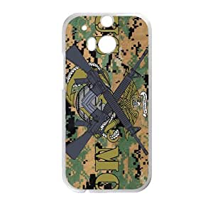 Personalized Marine Corps Hard plastic case For HTC One M8 free shipping (3)