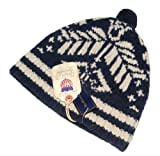 Polo Ralph Lauren Mens Wool Ski Usa Beanie Hat Navy Cream