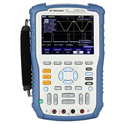 BK Precision 2512 100MHz 1 GSa/s Handheld Digital Storage Oscilloscope