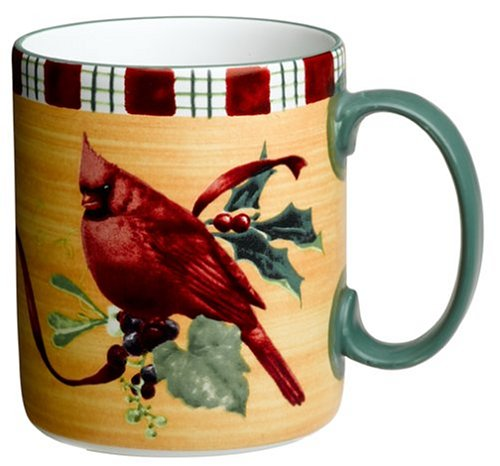 Lenox Winter Greetings Everyday Stoneware Cardinal (Lenox Stoneware Mug)