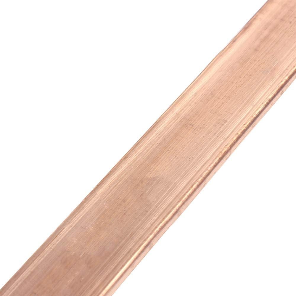500mm,20mm x 4mm WANGZHENG H59 Brass Strip Bar Sheet Metal Cu Thin Plate DIY Industry Metalworking Length