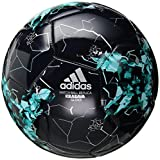 adidas Soccer Ball | adidas Performance Confederations Cup Glider - Legend Ink/Energy Aqua/Silver Metallic (Size 4)