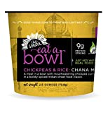 Chef Soraya Plant Based, Vegan, Chickpeas & Rice: Chana Masala 2.5 oz bowl, 6 pack