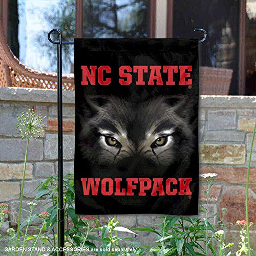 (College Flags and Banners Co. NC State Wolfpack Eyes Garden)
