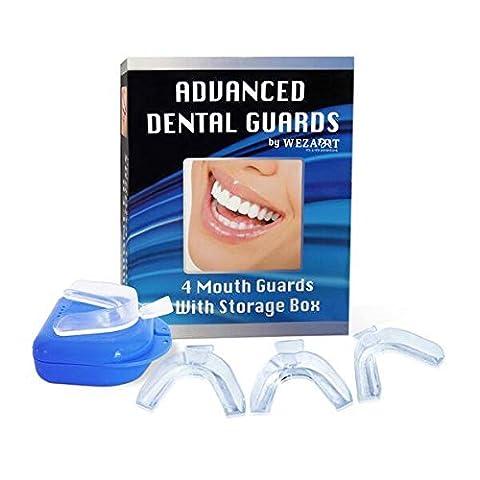 Advanced Dental Nighttime Mouth Guard for Grinding Teeth Night Sleep Bruxism TMJ Dental Pain (Food Return Policy)