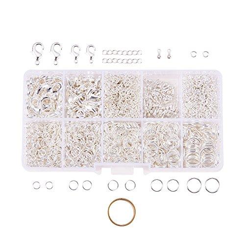 PandaHall Elite 1Box About 1585 Pcs Jewelry