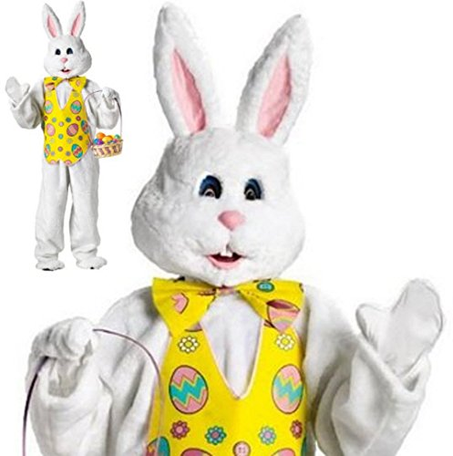 Deluxe Costume Yellow Easter Mascot