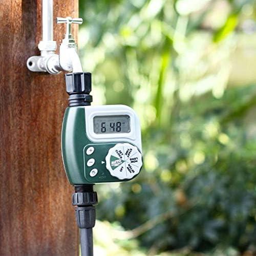 Haoshangzh55 Automatische Bewässerung Timer Gerät, Timing Bewässerung Sprinkler-Controller, Schlauch-Hahn-Timer Garten Automatische Bewässerung, Mit Ausziehbarem