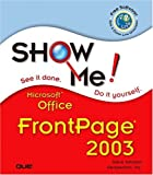 Microsoft Office FrontPage 2003, Steve Johnson and Perspection, Inc. Staff, 0789730065