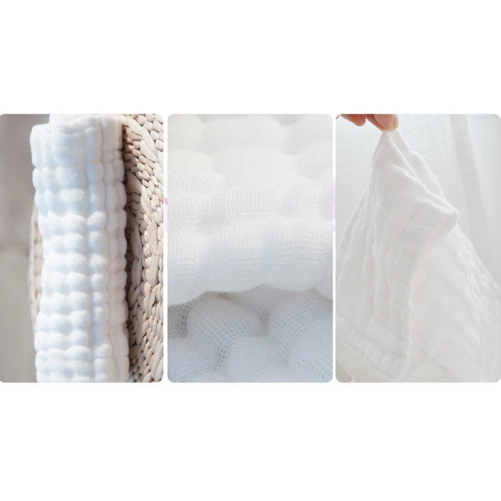 AidShunN 5er-Packung aus Reiner Baumwolle mit Extra Weichem Wiederverwendbaren Wischtuch f/ür Empfindliche Haut