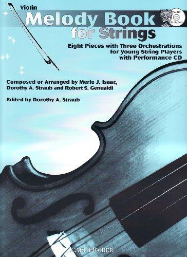 O5357 - Melody Book for Strings: Violin (Book & ()
