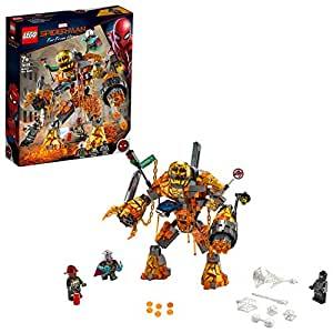 LEGO Marvel Spider-Man Molten Man Battle 76128  Building Kit