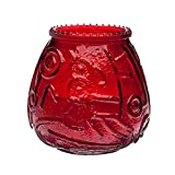 Sterno Products 40128 Euro-Venetian Red Candle - 12 / CS