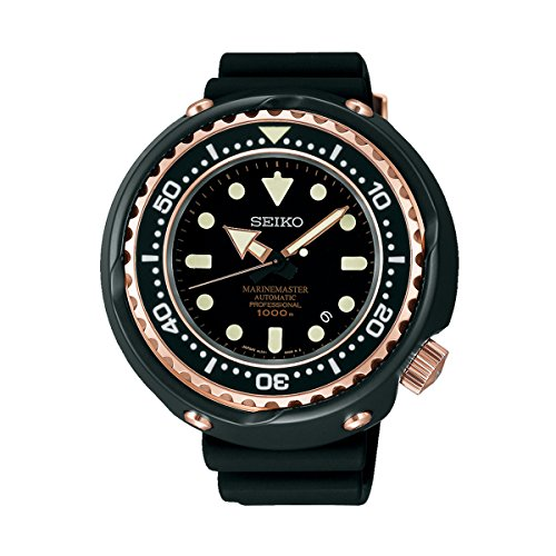 Seiko Mens PROSPEX Marinemaster Automatic Professional Dive Watch, SBDX014
