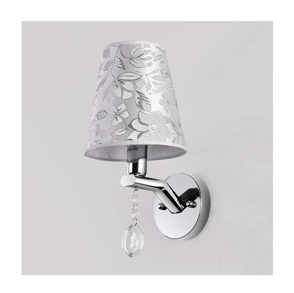 Wandleuchte lampe Wandleuchte E14 einfache Tuch Wohnzimmer Schlafzimmer Studie Flur Treppe Wandleuchte