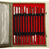 Set of 12 Stone Carving Chisels/Knives