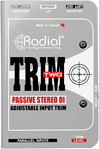 Radial Trim-Two Passive 2-channel AV DI with Trim by Radial