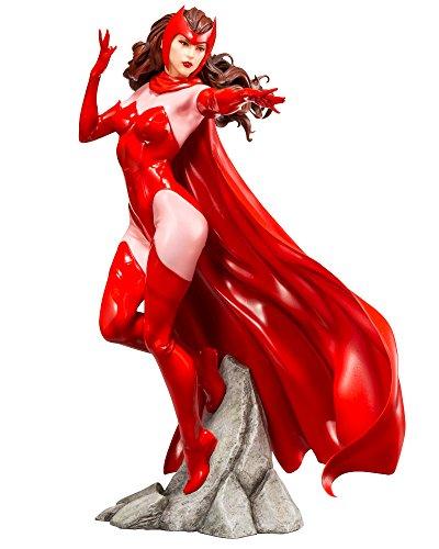 (Kotobukiya ARTFX + Marvel Universe Scarlet Witch 1/10 Scale PVC Painted Simple Assembly Figure)