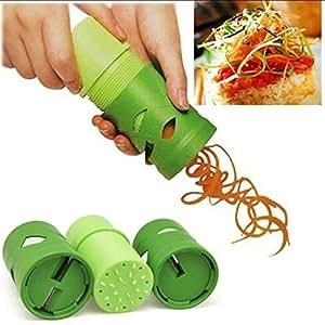 Kitchen Tools & Gadgets Vegetable Fruit Shred Twister Cutter Spiral Slicer Kitchen Tools Peeler Garnish