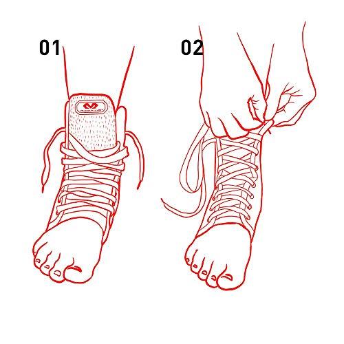 McDavid 199 Lightweight Ankle Brace (Black, X-Large) by McDavid (Image #9)