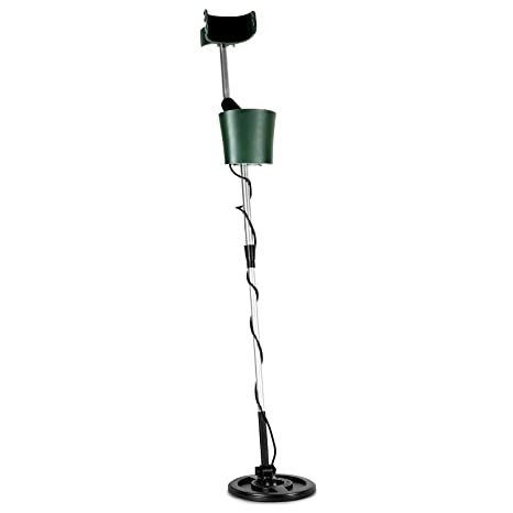 DURAMAXX Comfort Detector de Metales Resistente al Agua (Cabezal de búsqueda 20cm, Ligero,