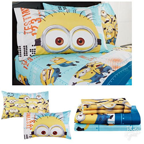 Despicable Me Minions Full Bedding Sheet Set
