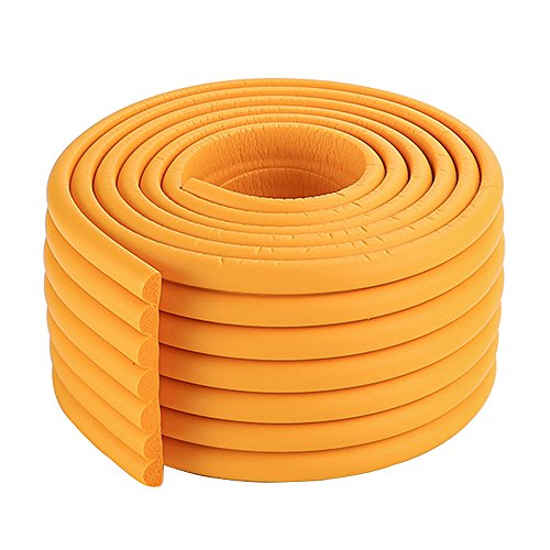 2x2m/13ft Vigorous Orange Safety Corner Cushions Foam Edge Protectors Childproofing Coffee Table Guard