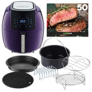 Amazon.com: GoWISE USA 8 en 1 Digital Air Fryer XL con Air ...