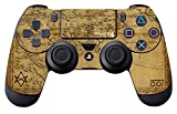 Controller Gear Uncharted 4: A Thief's End Officially Licensed PS4 Controller Skin A Thief's Map by Controller Gear