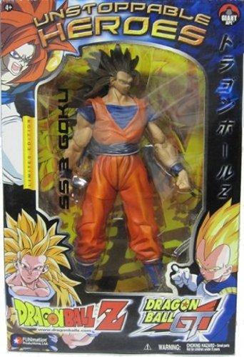 Dragon Ball Z Jakks Unstoppable Heroes-9  SS 3 Goku