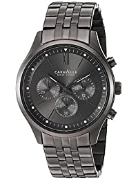 CARAVELLE NEW YORK Mens 45A133 Dress Grey Dial Watch