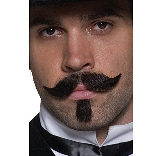 Authentic Western Gambler Moustache ()
