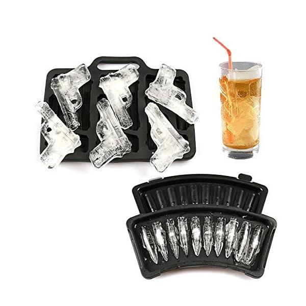 XuBaoFu-SH, 2019 20 cm x 10 cm x 5 cm Stampo for cubetti di ghiaccio Stampo in plastica Grande vaschetta for gelato… 2 spesavip