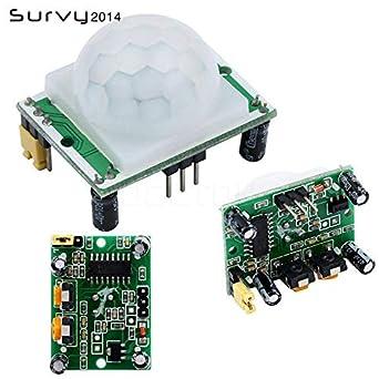 IR Pyroelectric Infrared Human Body Motion Sensor Detector Module For Arduino