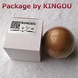KINGOU Wooden Puzzle Magic Ball Brain Teasers Toy