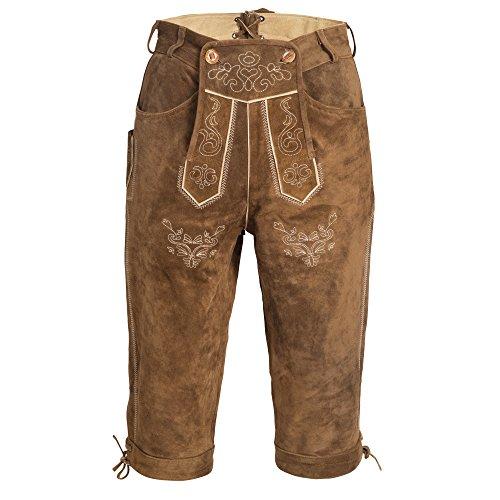 Gaudi-leathers Men's Traditional Pants Long 46 Light Brown ()