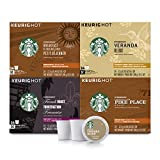 Starbucks Black Coffee K-Cup Variety Pack for Keurig Brewers, 4 boxes of 24 (96 total K-Cup pods)