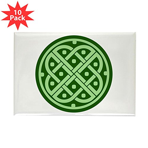 Rectangle Magnet (10 Pack) Celtic Knot Interlinking ()