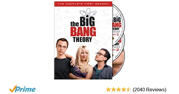 1cabcb14d5ff6d Amazon.com  The Big Bang Theory  The Complete First Season
