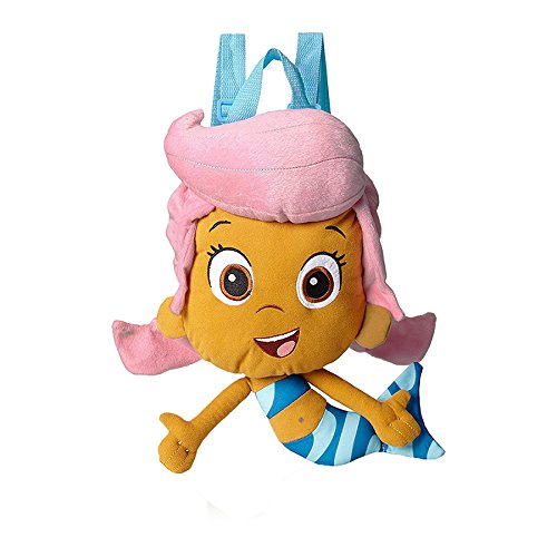 Bubble Guppies Molly (Accessory Innovations Little Girls' Bubble Guppies Molly Plush Backpack, Multi, One Size by)