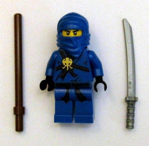 LEGO New Ninjago Jay Minifig Figure Minifigure Blue Ninja Go ...