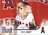 2018 Topps Opening Day Team Traditions and Celebrations #TTC-RM Rally Monkey Angels Baseball MLB