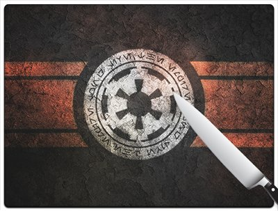 Star Wars Galactic Empire Large Cutting Board